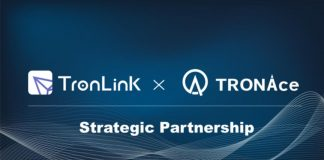 tronlink partnership tronace