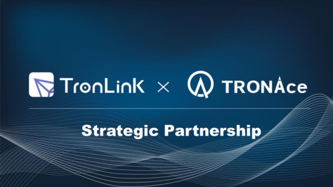 Tronlink annuncia una partnership con TRONAce