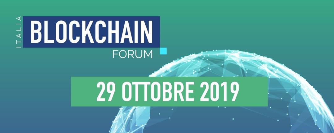Arriva il Blockchain Forum Italia 2019