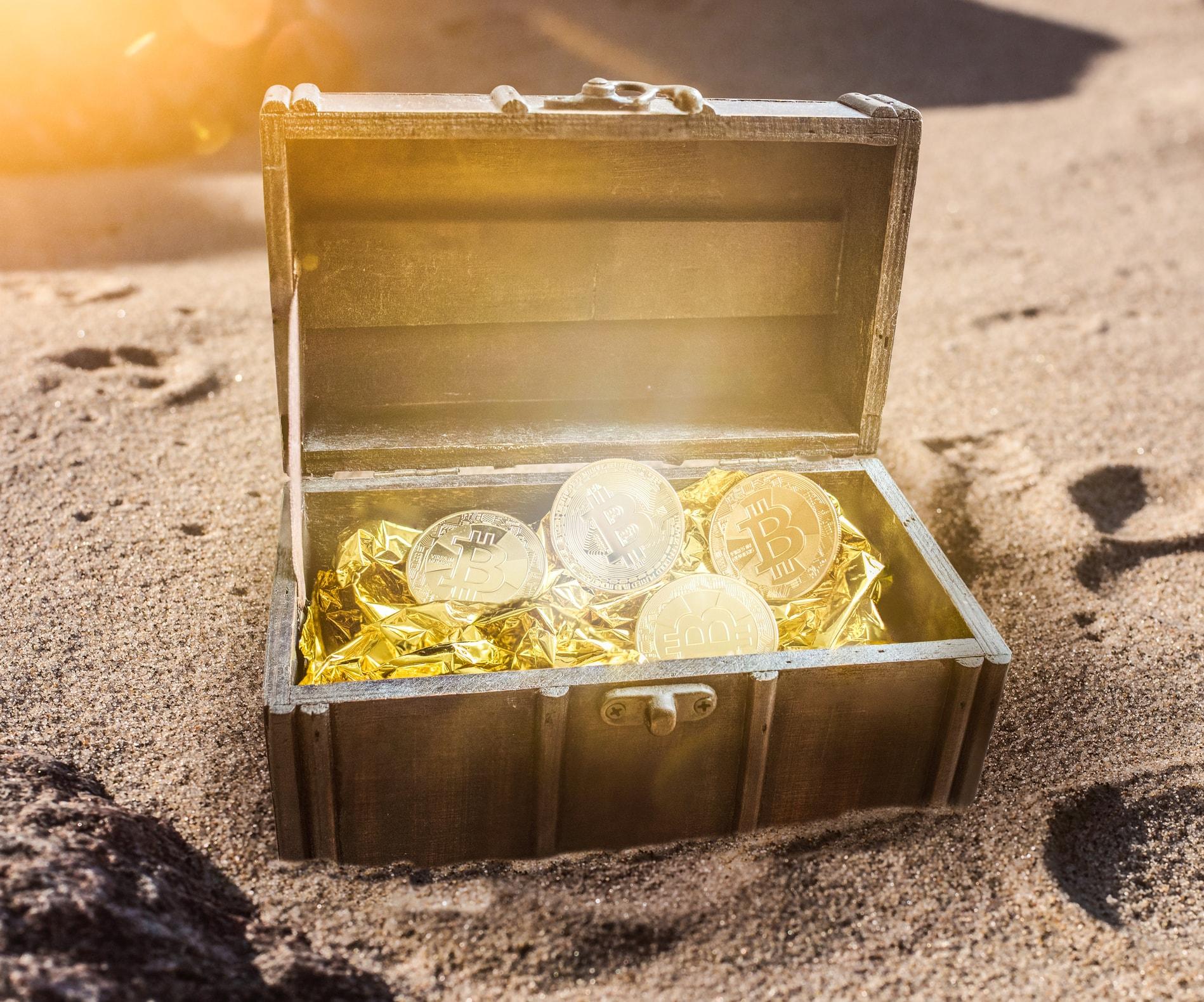 treasure 1 million bitcoin puzzle