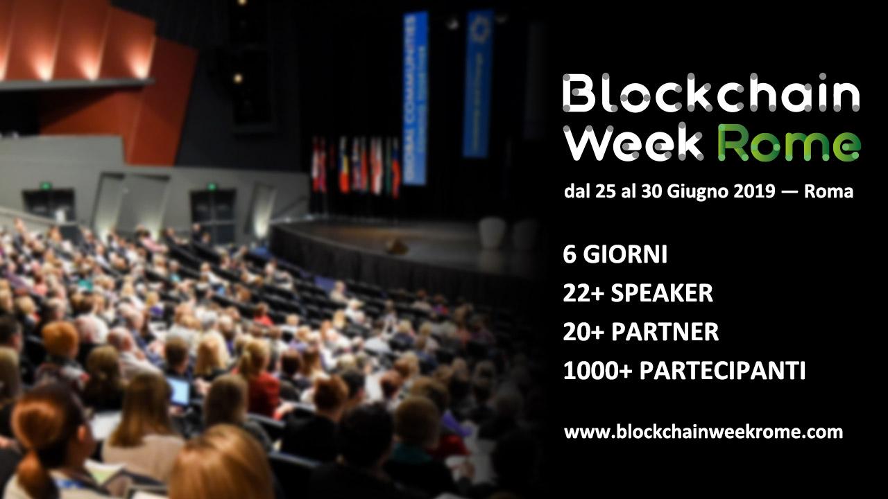 blockchain week rome eidoo