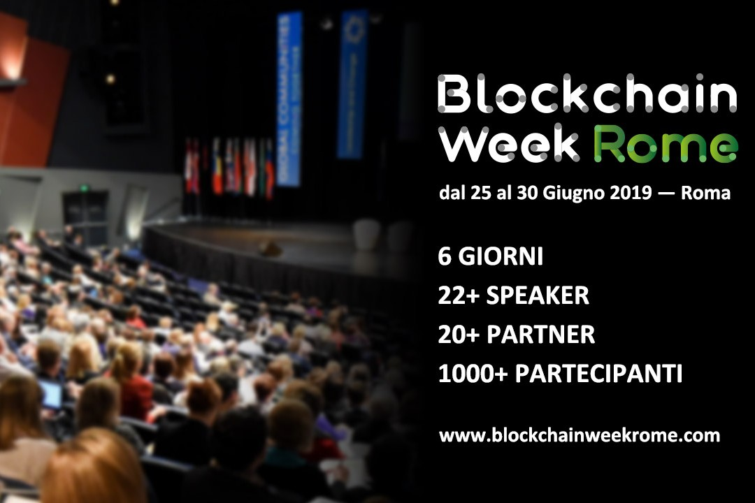 Blockchain week rome eidoo