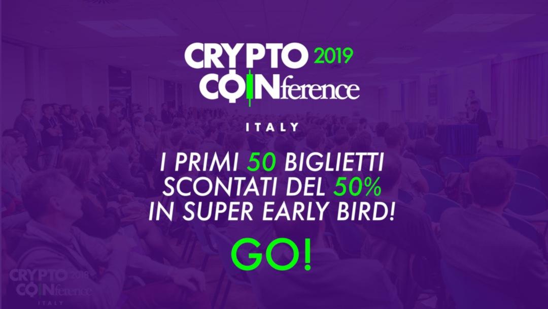 Crypto Coinference 2019 biglietti