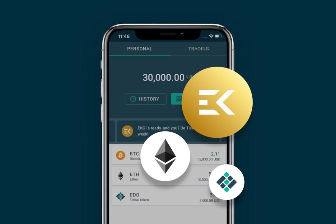 Eidoo: disponibile la stablecoin Ekon Gold