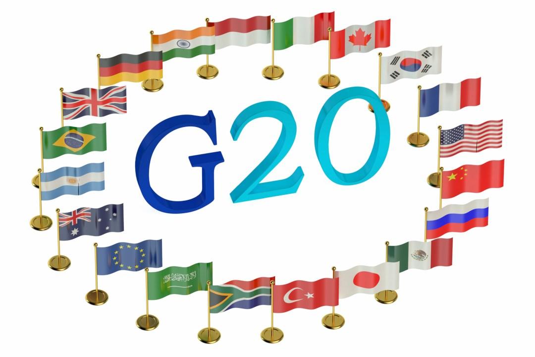 Il G20 vuole la regolamentazione crypto