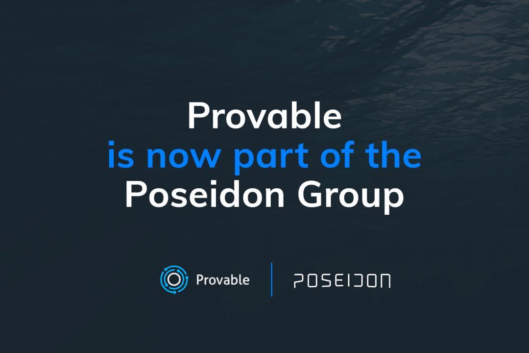 Provable (ex Oraclize) entra a far parte del Gruppo Poseidon