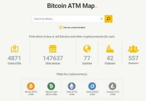 ATM Bitcoin Map