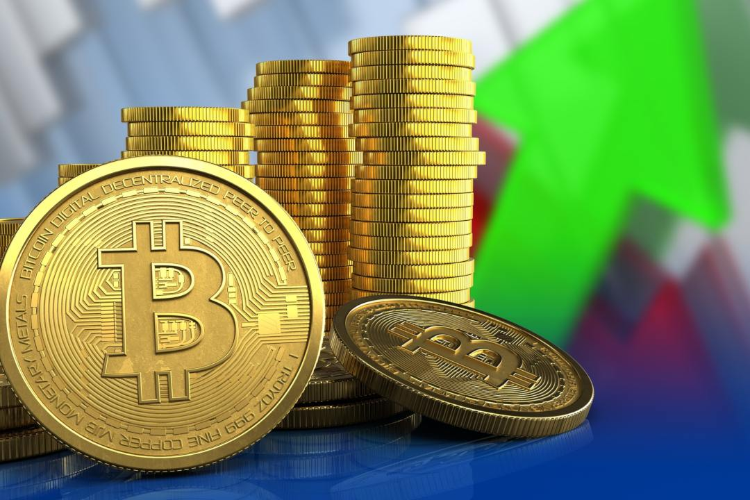 Bitcoin (BTC): la dominance sale al 57%