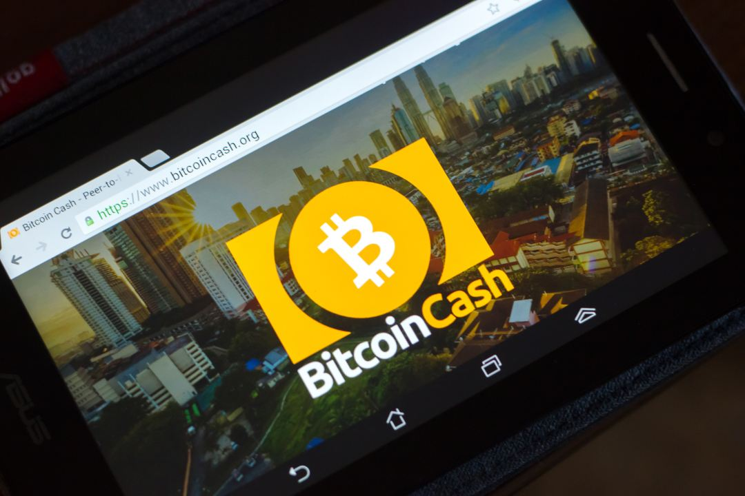 Bitfinex simbolo Bitcoin Cash