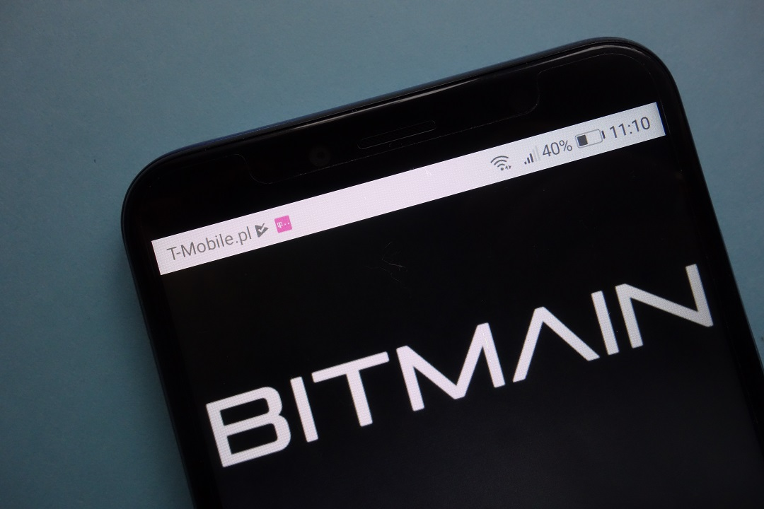 Bitmain: hashrate in calo sul network Bitcoin