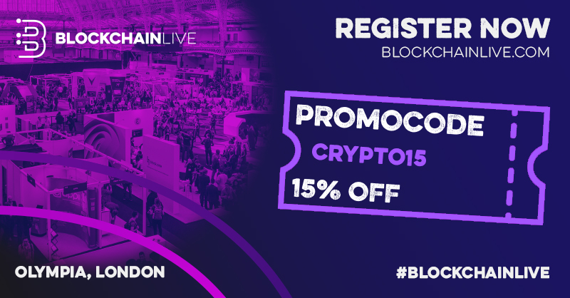 Blockchain Live Torna all'Olympia London a settembre