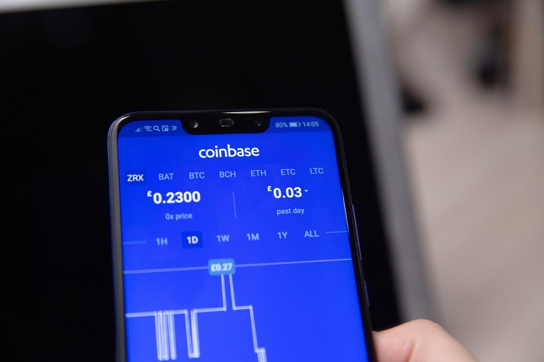 Coinbase trading: il 60% dei volumi è dovuto a investitori istituzionali