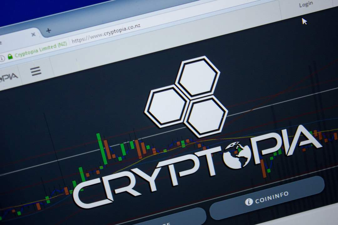 exchange cryptopia per criptovalute