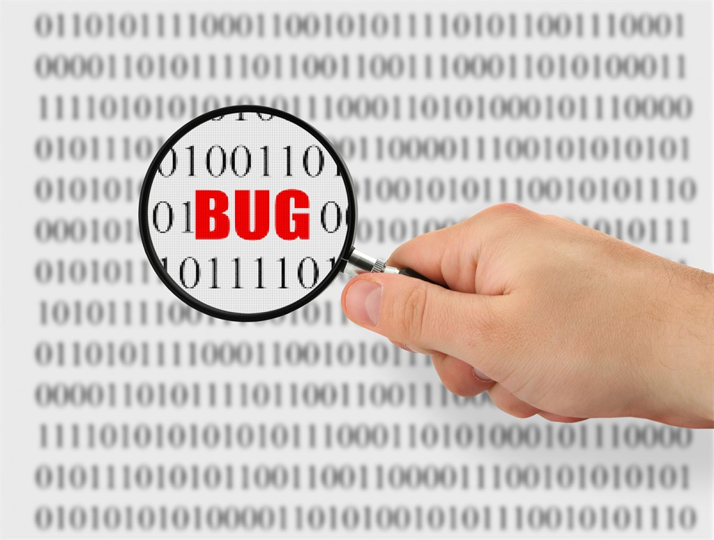 report bugs blockchain