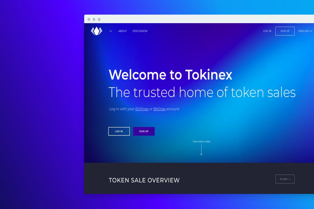 tokinex IEO Bitfinex exchange launchpad
