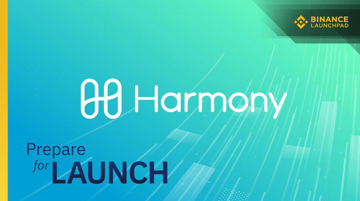 binance launchpad harmony token