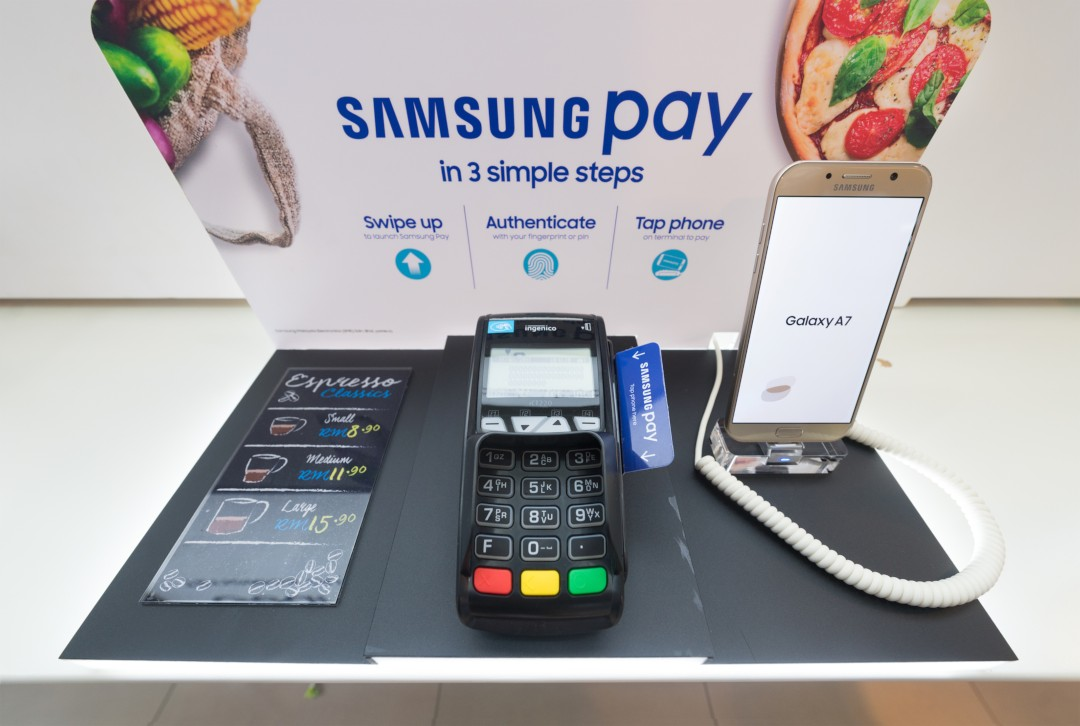 samsung pay wallet crypto