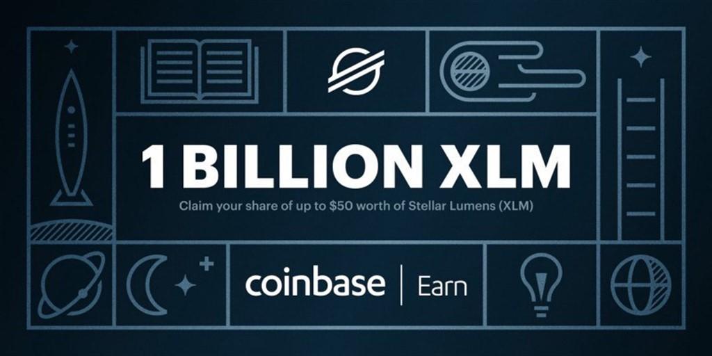 stellar lumens coinbase earn