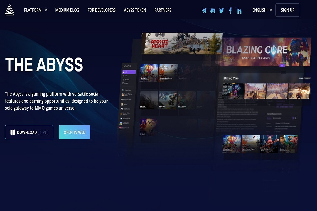 the abyss epic games unreal engine