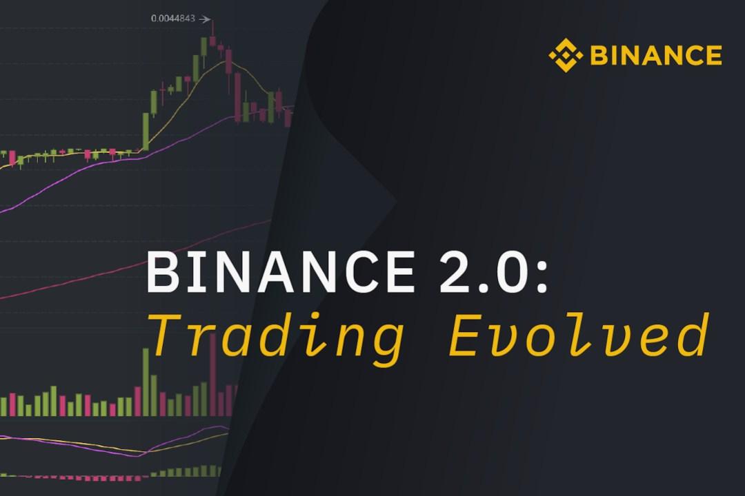 Binance 2.0: inizia l'update della piattaforma di trading