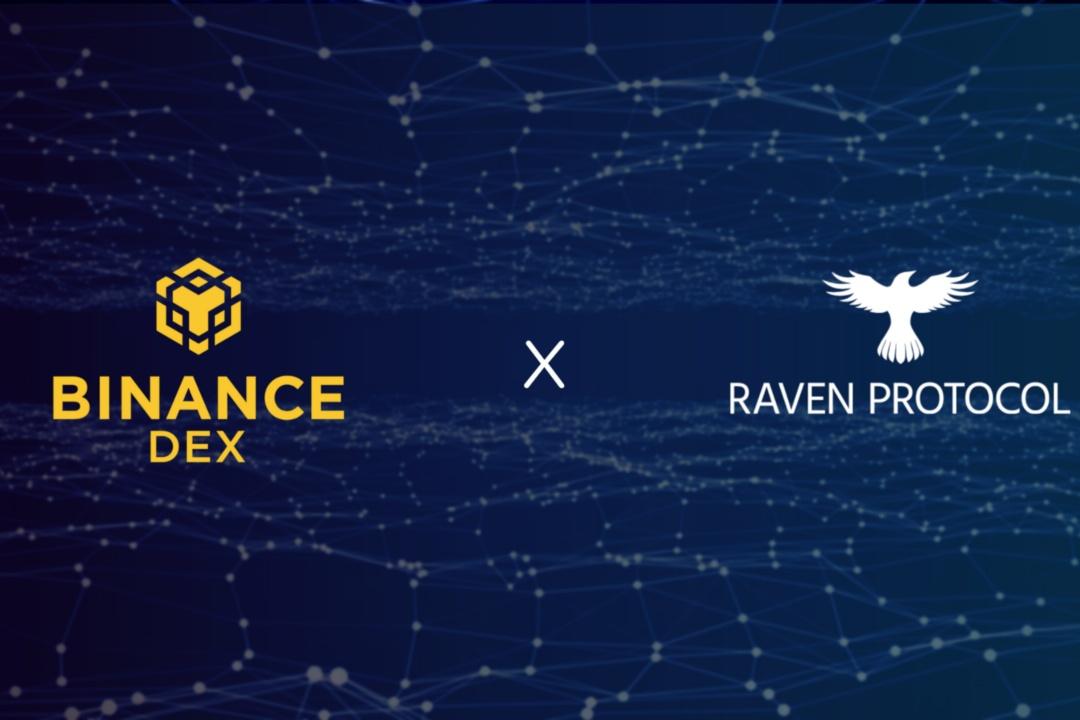 Oggi Raven sbarca su Binance DEX