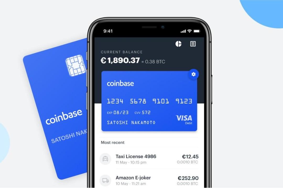 Coinbase Card sbarca in 6 Paesi europei: presente anche l'Italia