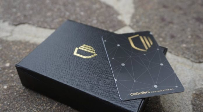 CoolWallet S hardware wallet