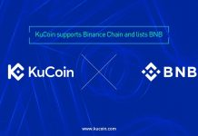 kucoin list binance coinbnb token