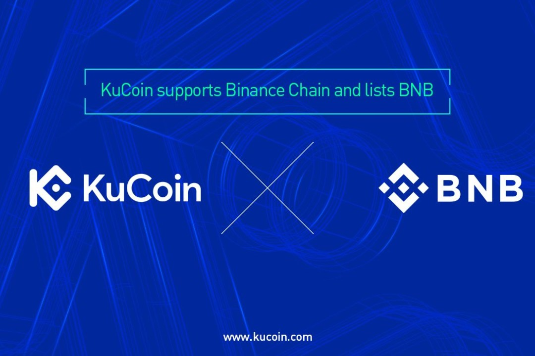 KuCoin lista il token Binance Coin (BNB)