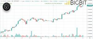 litecoin price rise