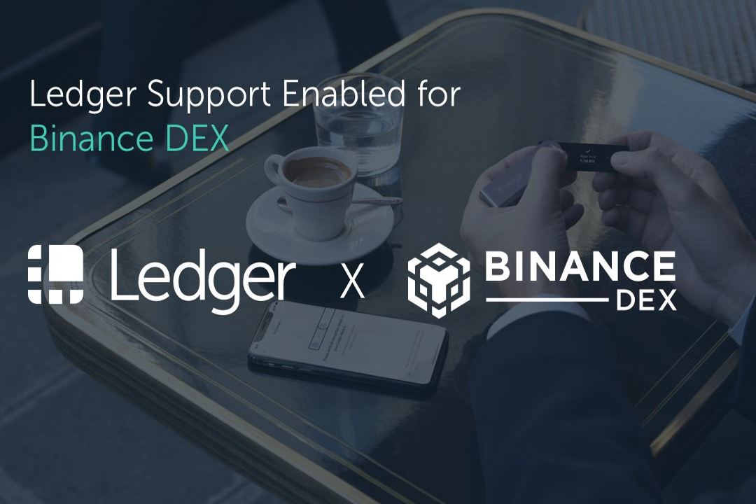 Binance Dex disponibile anche sull'hardware wallet Ledger Nano X