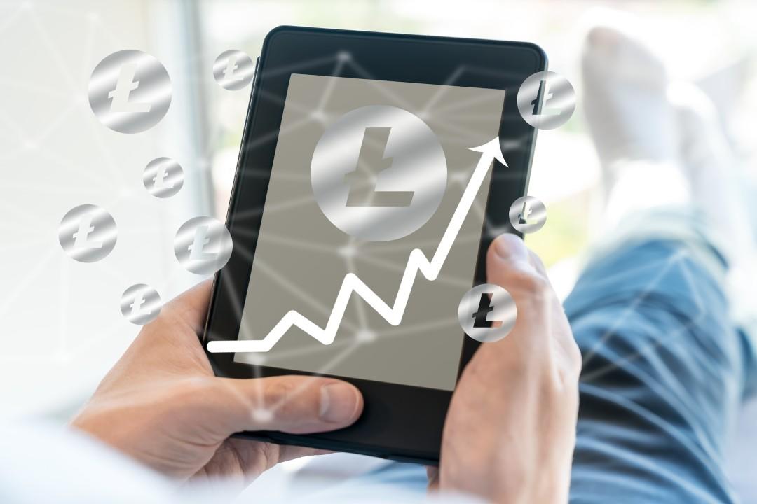 Litecoin, prezzo in aumento: +10%