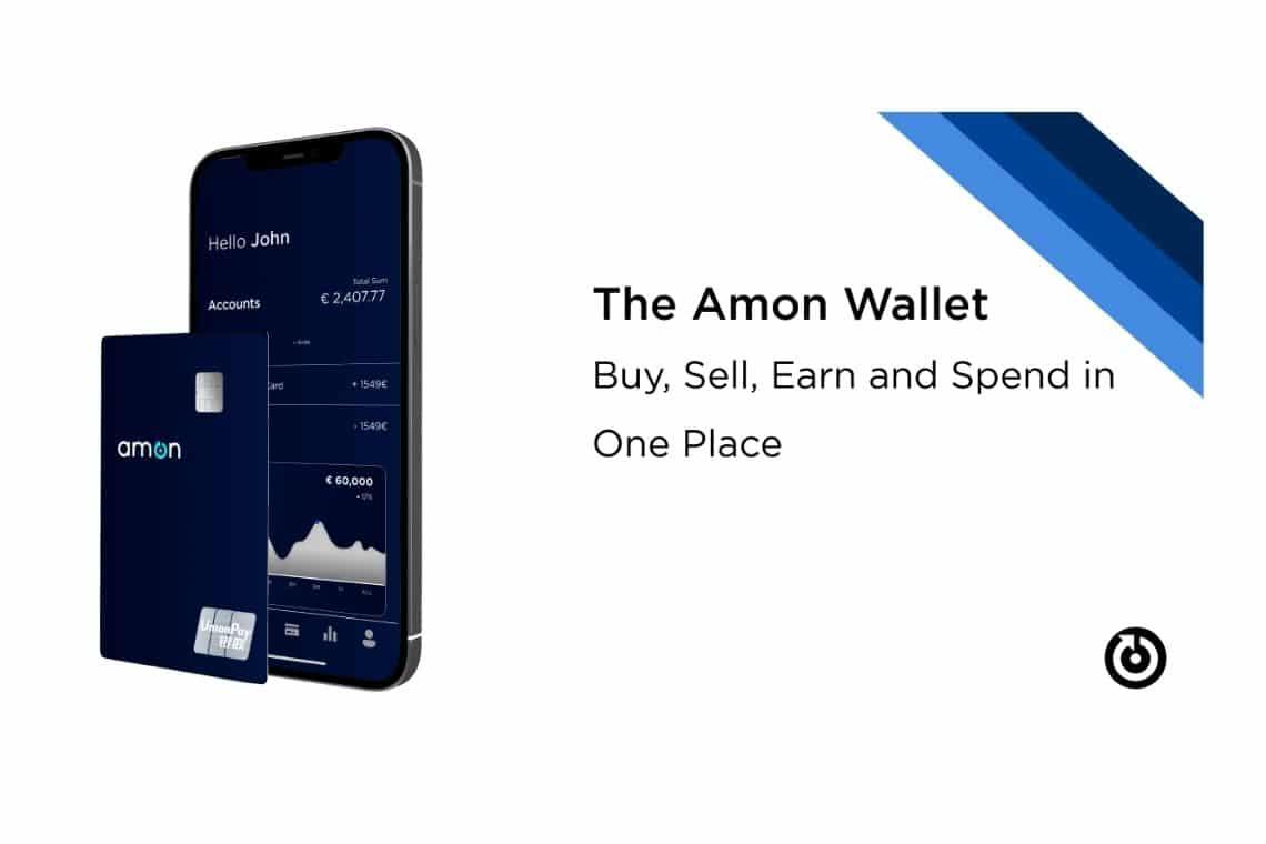 Amon: la carta di debito per criptovalute con intelligenza artificiale