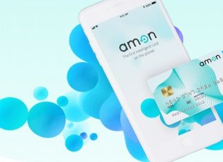amon cryptocurrency debit card