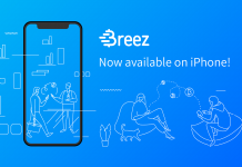 breez ios iphone app bitcoin