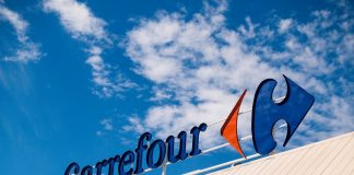 carrefour increased sales blockchain