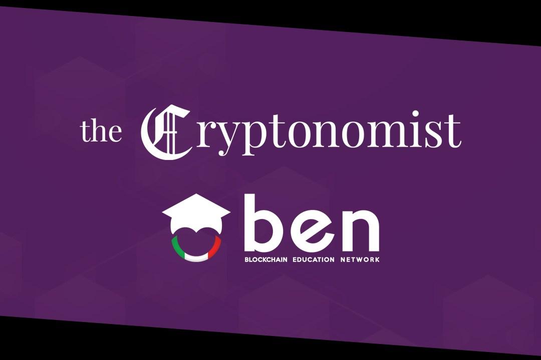 Cryptonomist in partnership con Blockchain Education Network Italia