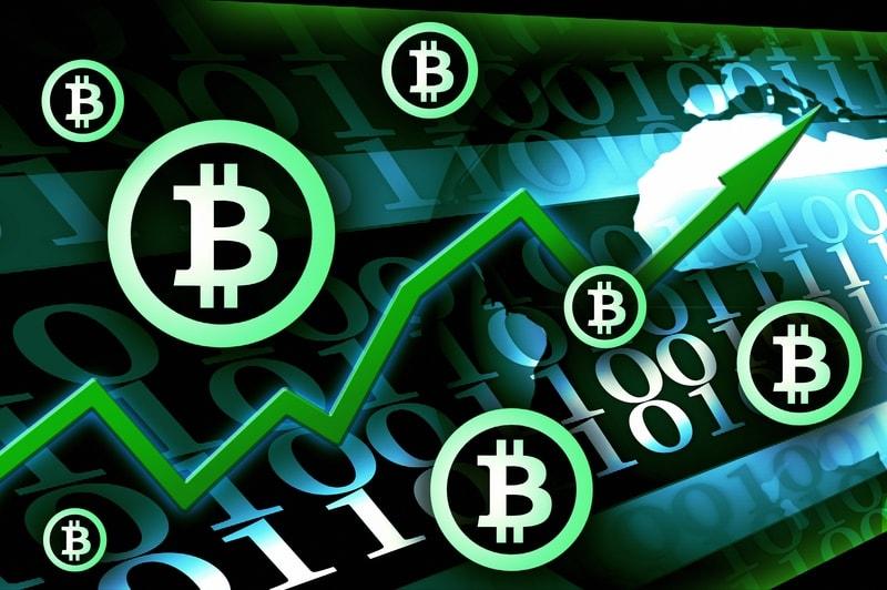 Bitcoin: volumi in crescita accompagnano il rialzo