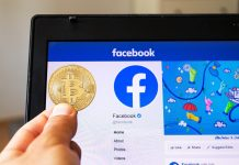 facebook shares bitcoin price