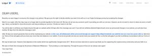 liqui exchange criptovalute comunicato
