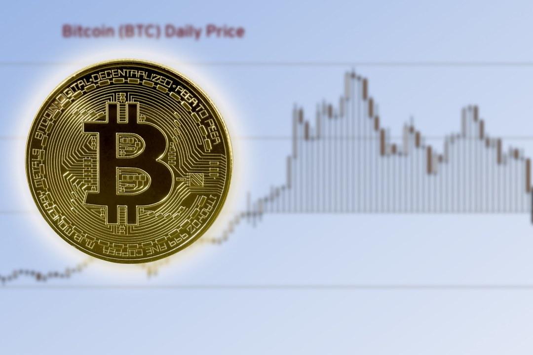 Continua il calo del prezzo di bitcoin