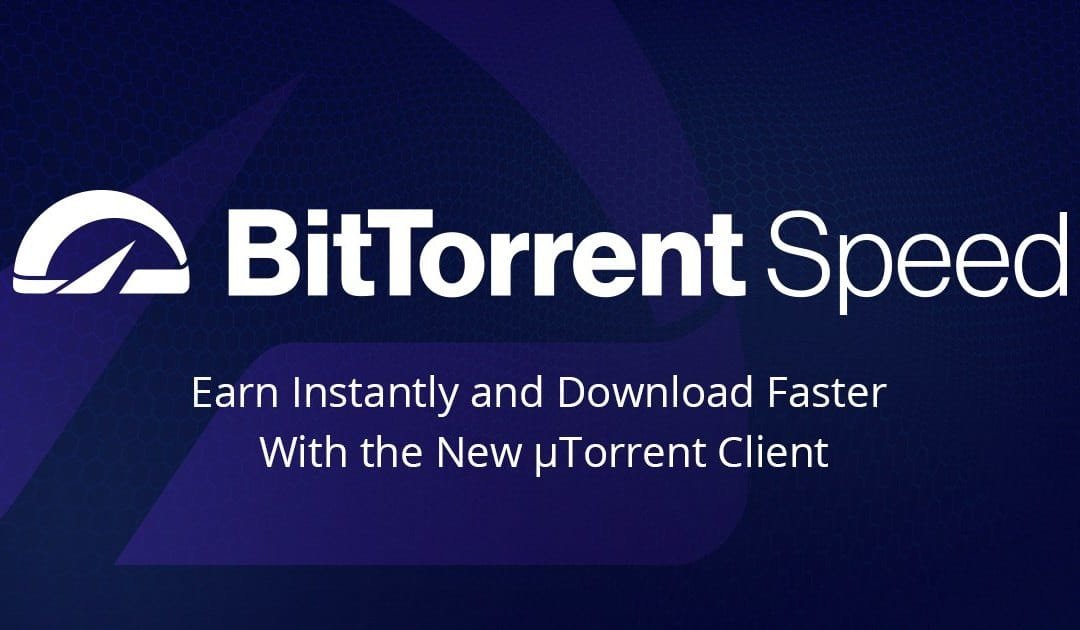 Ora disponibile il programma BitTorrent Speed