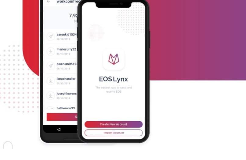 EOS Lynx: il wallet EOS per iOS e Android