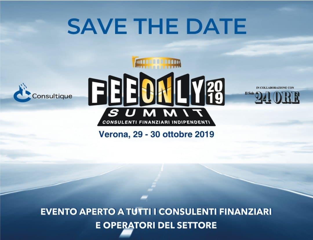 FeeOnly Summit 2019: focus su Fintech e crypto-asset