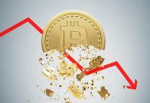 calo del prezzo bitcoin