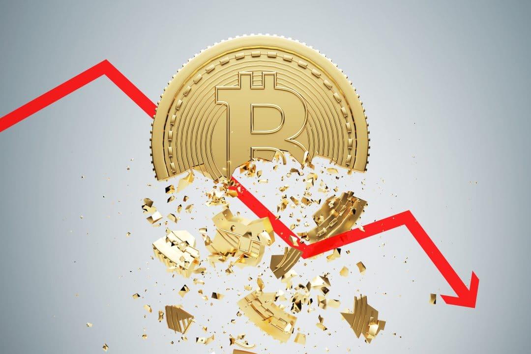 Nuovo calo del prezzo di bitcoin