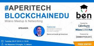 blockchainedu aperitech milano
