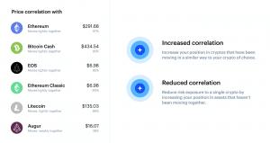 correlazione tra criptovalute coinbase