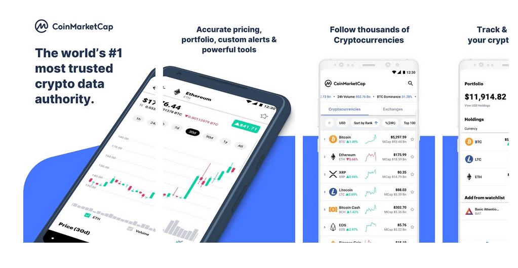 coinmarketcap app criptovalute