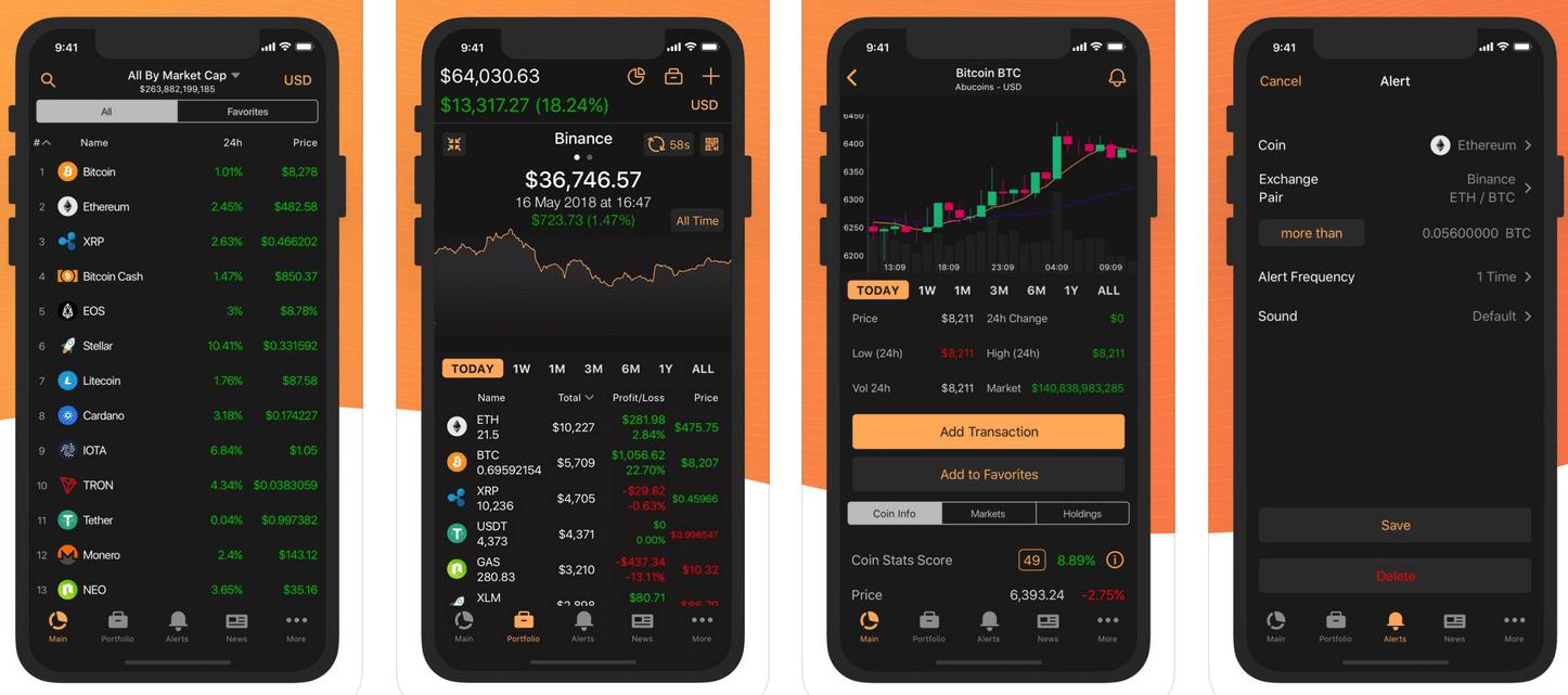 coinstats criptovalute app
